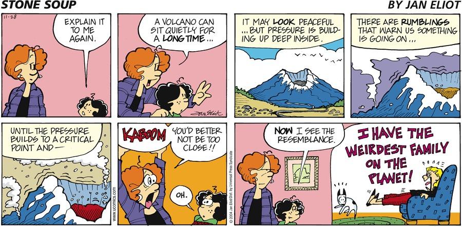 Stone Soup Comic Strip for November 28, 2004