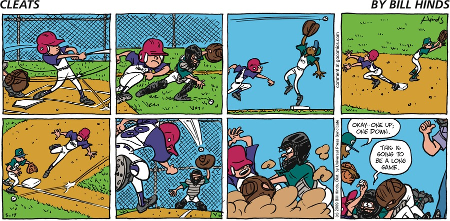 Cleats Comic Strip for May 20, 2018