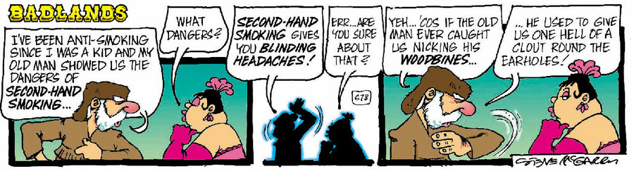 Badlands Comic Strip for January 12, 2021