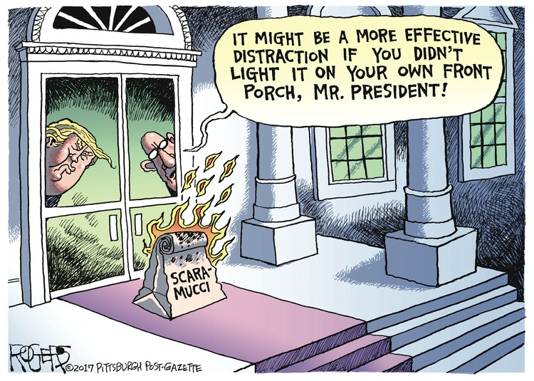 Rob Rogers Comic Strip for July 30, 2017