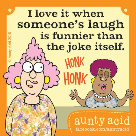 Aunty Acid Comic Strip for April 22, 2018