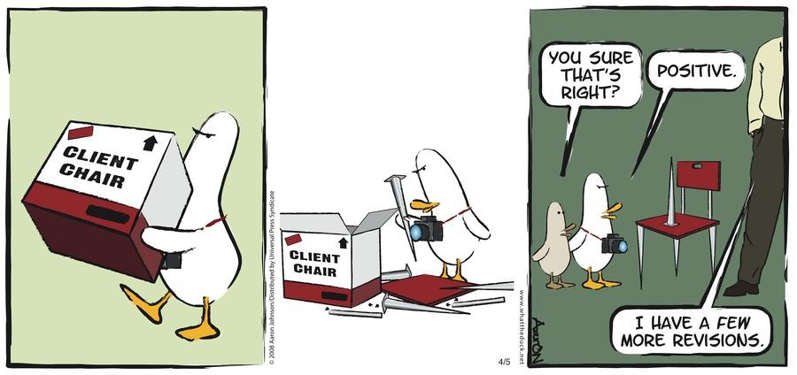 W.T. Duck for Jan 20, 2013 Comic Strip
