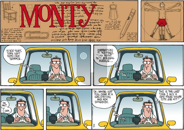 Monty - Sunday October 30, 2016 Comic Strip