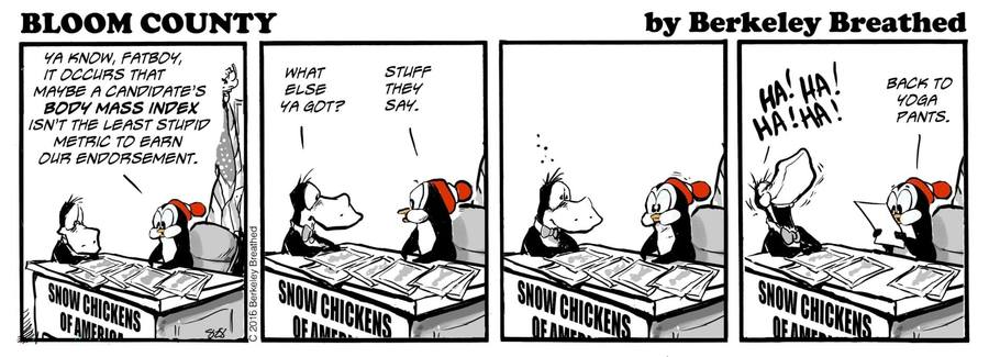 Bloom County 2019 by Berkeley Breathed on Thu, 05 Dec 2019