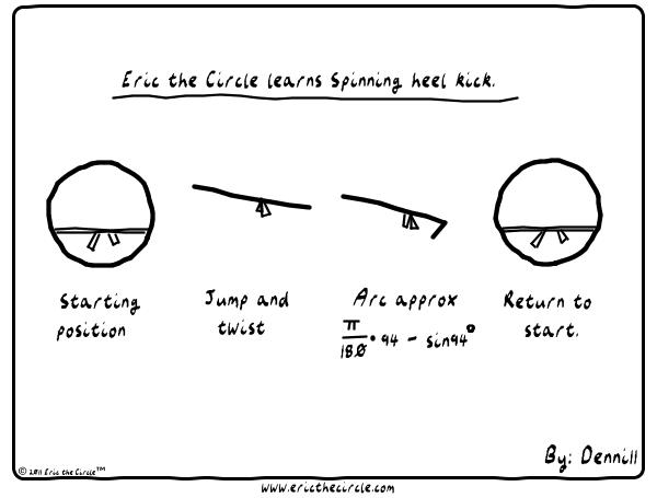 Eric the Circle Comic Strip for August 24, 2017