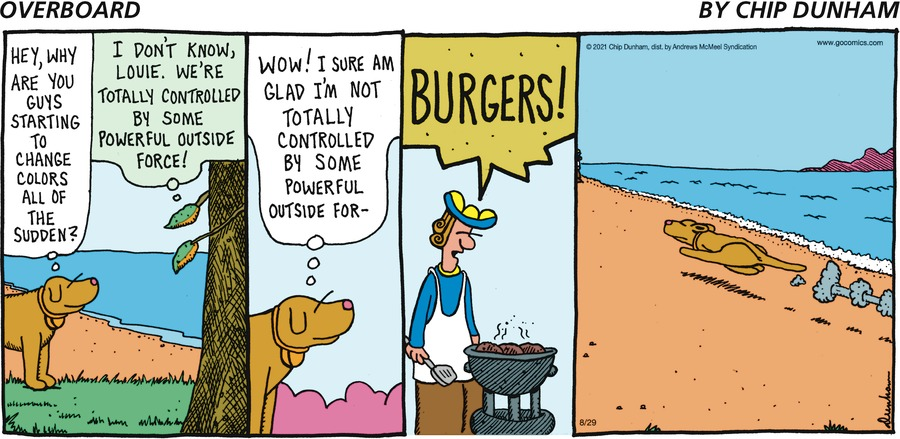 Overboard Comic Strip for August 29, 2021