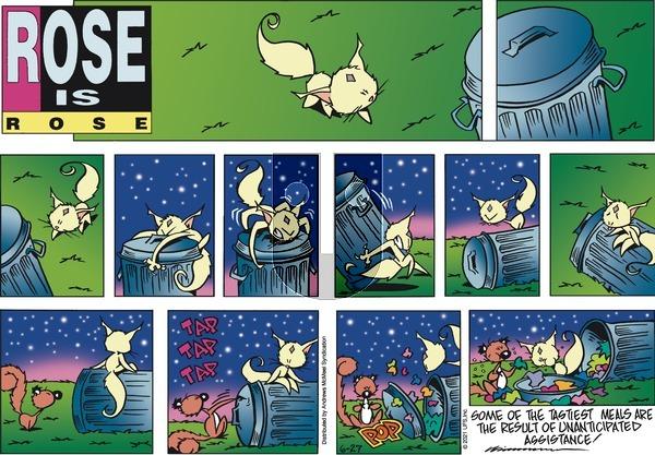 Rose is Rose - Sunday June 27, 2021 Comic Strip