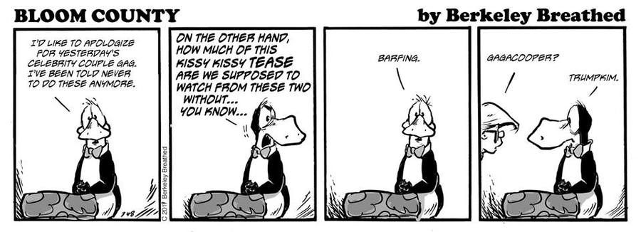 Bloom County 2018 by Berkeley Breathed for March 05, 2019
