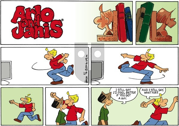 Arlo and Janis on Sunday February 6, 2011 Comic Strip