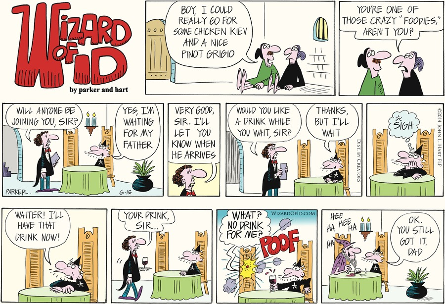 Wizard of Id for Jun 15, 2014 Comic Strip