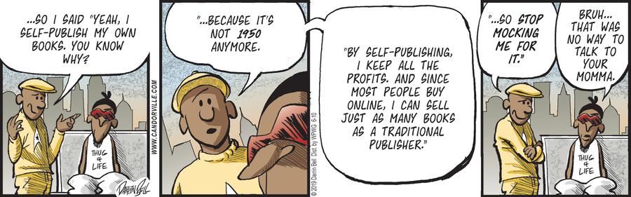 Candorville Comic Strip for June 10, 2019