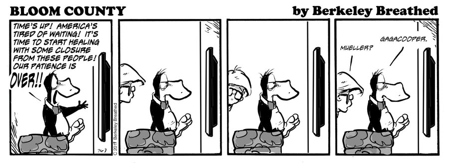 Bloom County 2018 by Berkeley Breathed for March 04, 2019