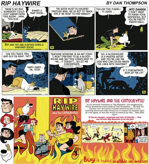 Rip Haywire on Sunday January 21, 2018 Comic Strip