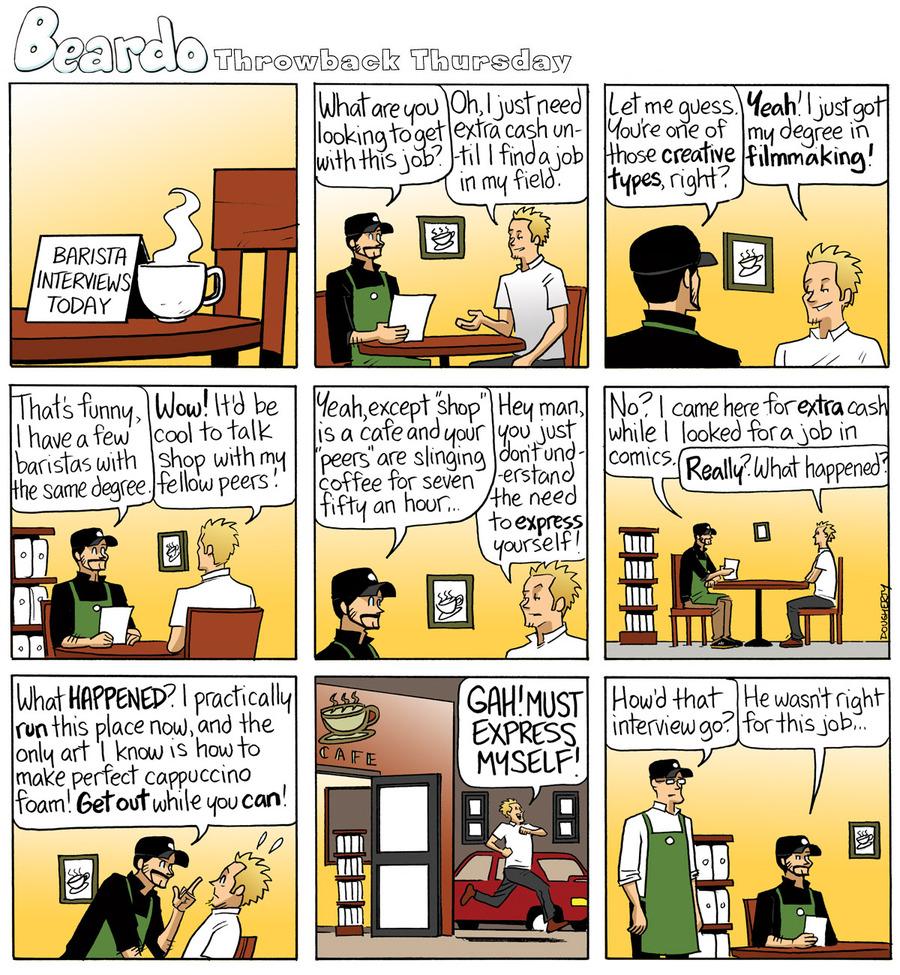 Beardo for Jun 19, 2014 Comic Strip