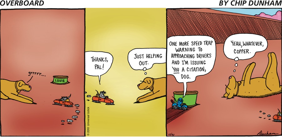 Overboard for Oct 31, 2010 Comic Strip
