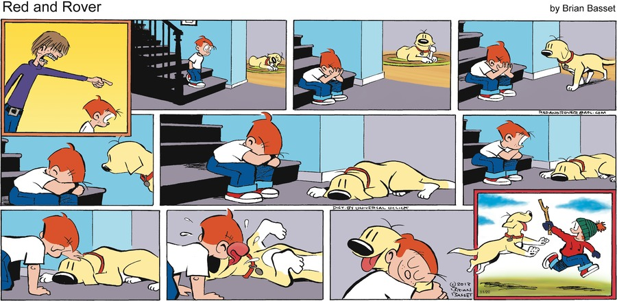 Red and Rover for Nov 20, 2016 Comic Strip