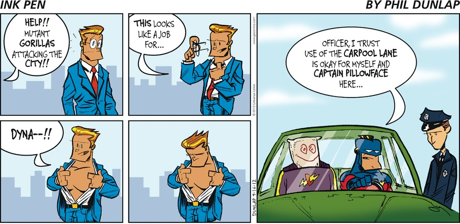 Ink Pen Comic Strip for September 16, 2012