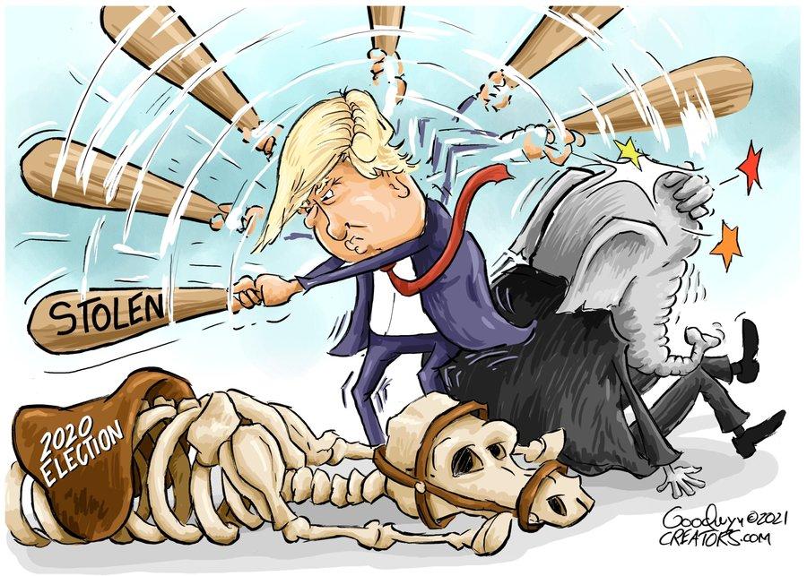 Al Goodwyn Editorial Cartoons Comic Strip for May 07, 2021