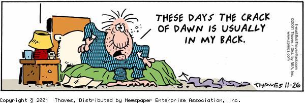Frank and Ernest Comic Strip for November 26, 2001
