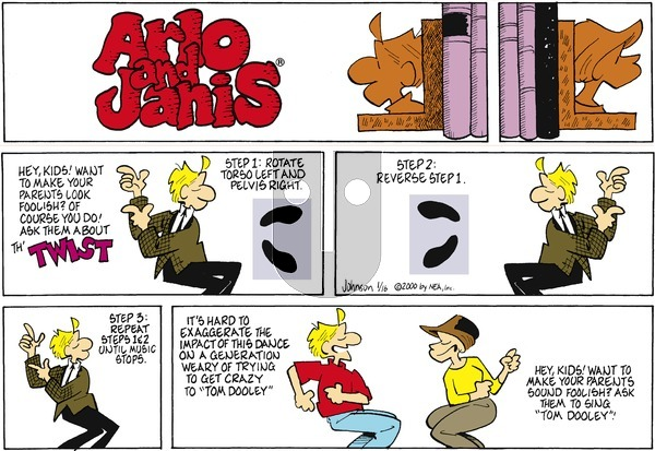 Arlo and Janis on Sunday January 16, 2000 Comic Strip