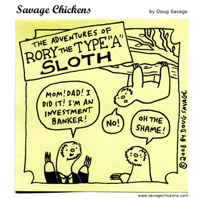 Savage Chickens Comic Strip for July 11, 2012