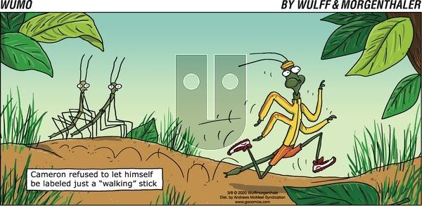 WuMo on Sunday March 8, 2020 Comic Strip