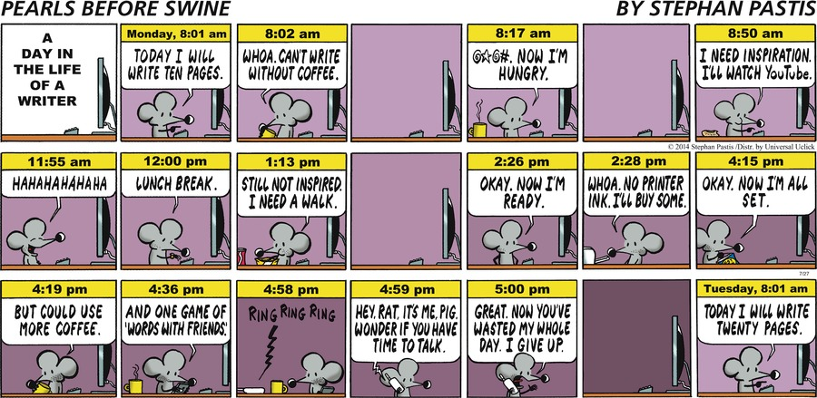 Pearls Before Swine Comic Strip for July 27, 2014