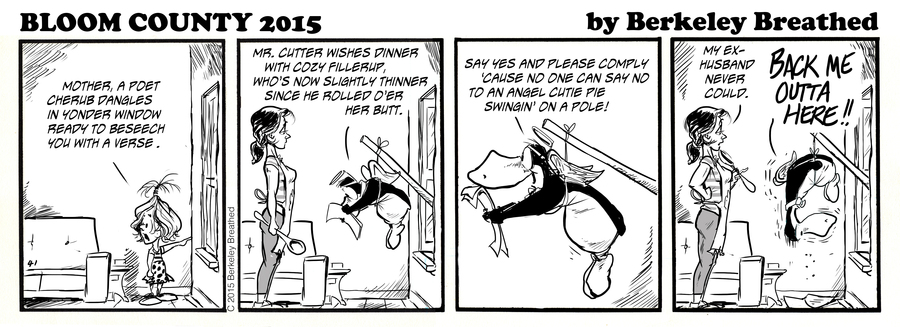 Bloom County 2019 Comic Strip for September 10, 2015