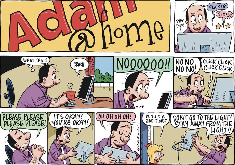 Adam@Home Comic Strip for September 19, 2021