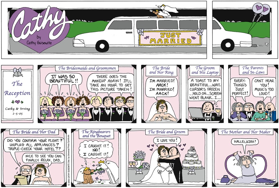 Cathy Classics Comic Strip for February 06, 2005