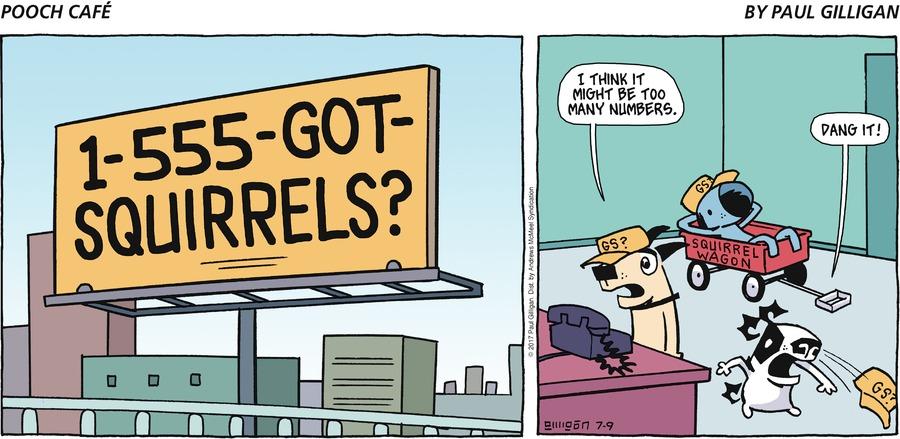 Pooch Cafe for Jul 9, 2017 Comic Strip