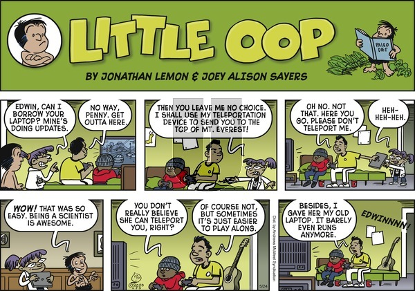 Alley Oop on Sunday May 24, 2020 Comic Strip