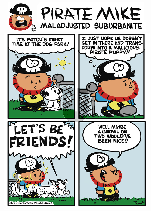 Pirate Mike - Tuesday August 13, 2019 Comic Strip