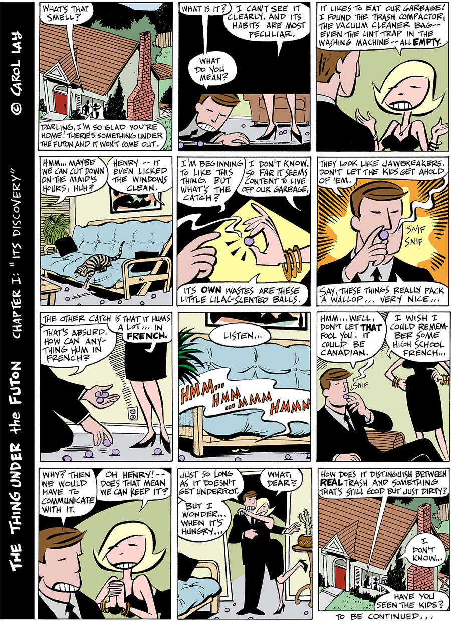 Lay Lines Comic Strip for January 26, 2015
