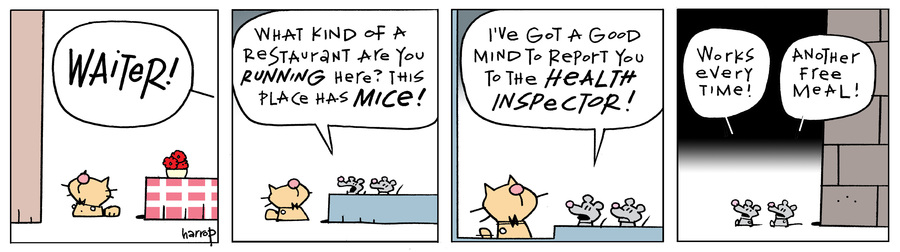 Ten Cats Comic Strip for January 15, 2021