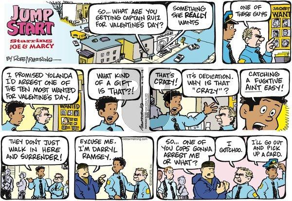 JumpStart on Sunday February 12, 2012 Comic Strip