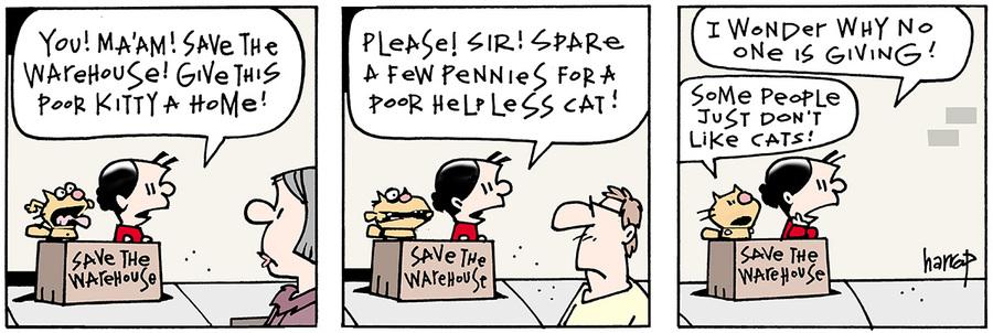 Ten Cats for Jul 5, 2013 Comic Strip