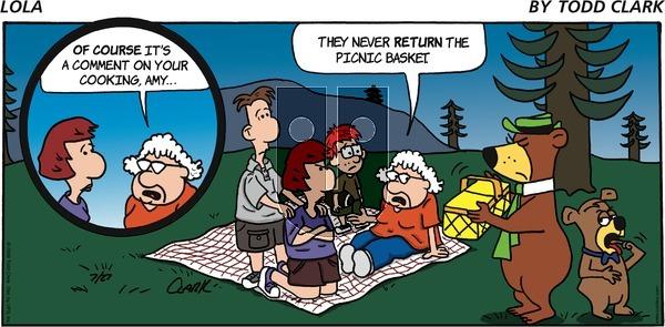 Lola on Sunday July 27, 2008 Comic Strip