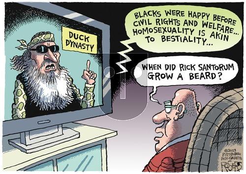 Rob Rogers on Sunday December 22, 2013 Comic Strip