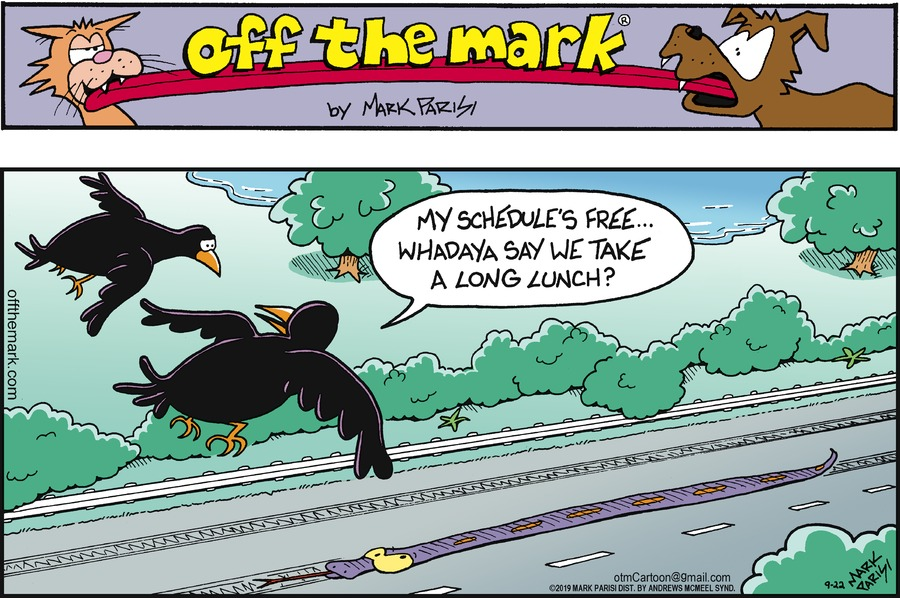 Off the Mark Comic Strip for September 22, 2019