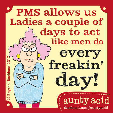 Aunty Acid for May 16, 2017 Comic Strip