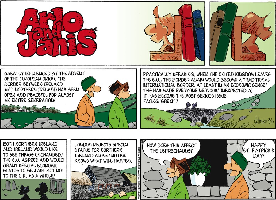 Arlo and Janis by Jimmy Johnson for March 17, 2019