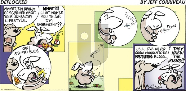 DeFlocked on Sunday July 7, 2019 Comic Strip