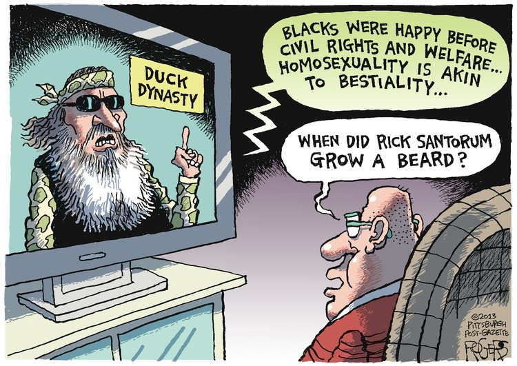 Rob Rogers Comic Strip for December 22, 2013