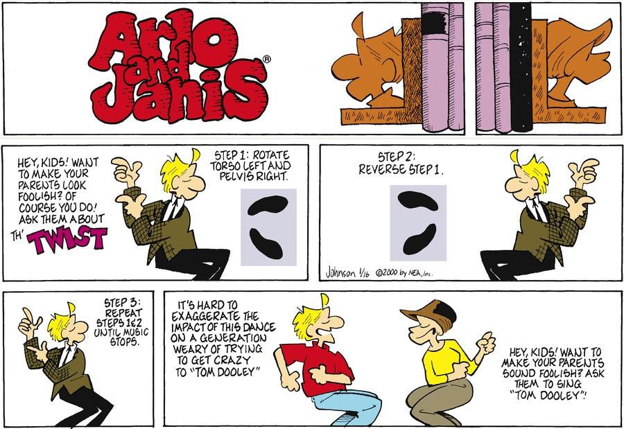 Arlo and Janis for Jan 16, 2000 Comic Strip
