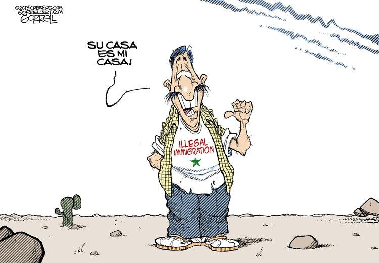 Bob Gorrell for Jan 28, 2013 Comic Strip