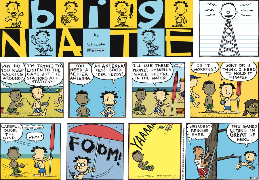 Big Nate Comic Strip for June 28, 2015
