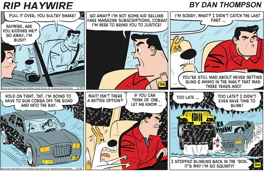 Rip Haywire Comic Strip for February 09, 2020