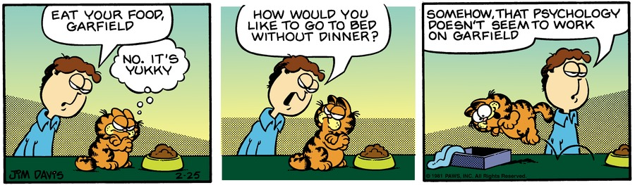 Garfield Classics by Jim Davis for March 03, 2019