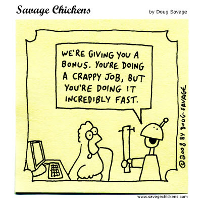 Savage Chickens for Jul 16, 2012 Comic Strip